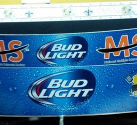 MS Charity Partners with Bud Light
